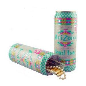 Arizona Ice Tea: Stash Can